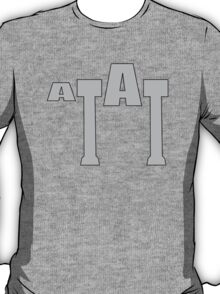 Typographic At-At T-Shirt