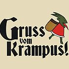 Gruss vom Krampus! by QueenHare