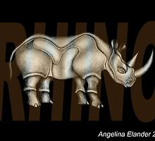 Rhino by Angelina Elander