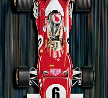 Ferrari Formula One iPhone Case by davidkyte