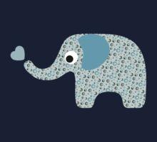 Elephant Seamless background Kids Clothes