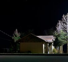 Places Far and Between - Auto Repair House by Shaun Whitworth
