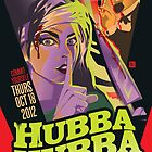 Poster for Hubba Hubba Revue, October 2012 by caseycastille