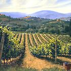Chianti Vines by SwansonArt