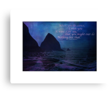 Do Nothing But That Canvas Print