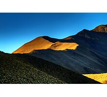 Lindis Pass Light Photographic Print