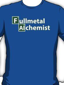 fullmetal alchemist breaking bad  T-Shirt