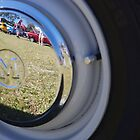 A Reflective Hubcap by R-Walker