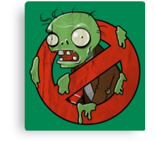 Zombie Buster Canvas Print