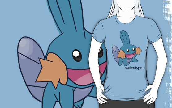 Pokemon Water-types - Mudkip by cassiopeia5