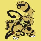 【3800+ views】Pokemon  Elekid>Electabuzz>Electivire by Shaojie Wang
