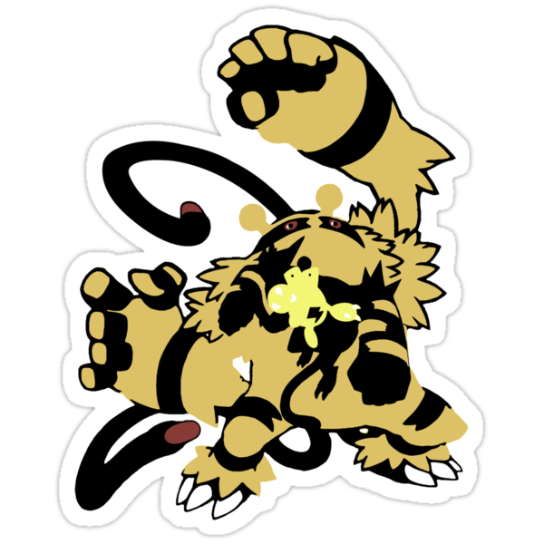 【12700+ views】Pokemon  Elekid>Electabuzz>Electivire by Ruo7in