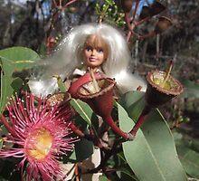 Red flowering gum by VeronicaPurple