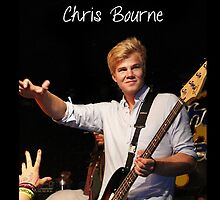 Chris Bourne by lindsaylokalia