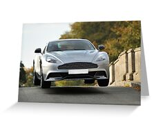 Aston Martin 'Airtime' Greeting Card