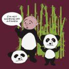 I'm not wanking off a Panda - Karl Pilkington T Shirt by WhiteCurl