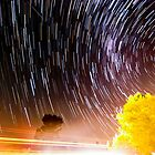Gingin Startrails by Tyson Battersby