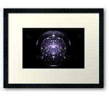 Neutron Fusion Framed Print