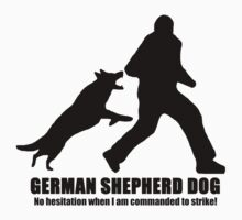German Shepherd Dog / Will not hesitate to protect! / Light Clothing by wildwolf