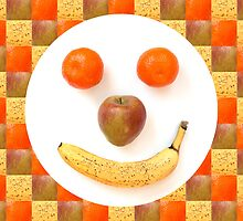 Fruit Face by Natalie Kinnear