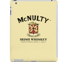 McNulty Irish Whiskey iPad Case/Skin