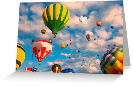 Balloon Ride by Adam Asar