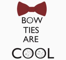 Bow ties are cool by tartureix