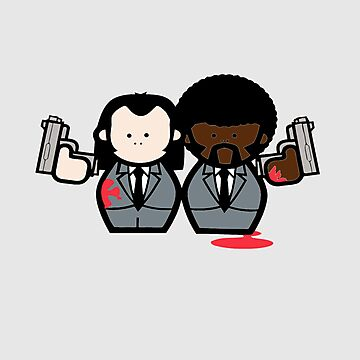 Jules and Vincent- Pulp Fiction by KnightsOfShame