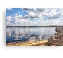Waterways & Railways Metal Print