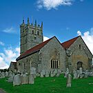 St Mary&#x27;s Church, Carisbrooke  by Rod Johnson