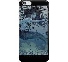 Nautical Monochromatic Mermaid iPhone Case/Skin