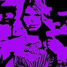 Taylor Swift Purple Artwork  by Double-T