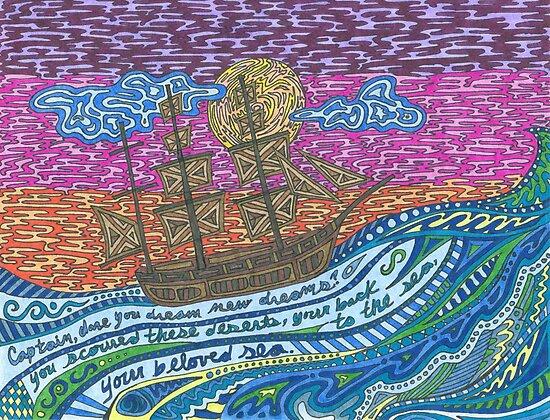 Your Beloved Sea by Sara Hooks