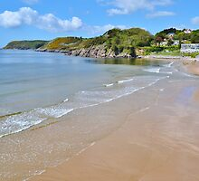 Caswell Bay by Paula J James