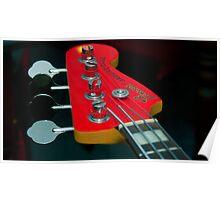 Indigo Yellow - Bass Guitar Poster