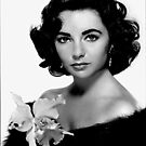 Elizabeth Taylor # 2 iPad Case by ipadjohn