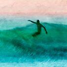 Bombo surfer by Geraldine Lefoe