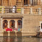 On the Ganges by Geraldine Lefoe