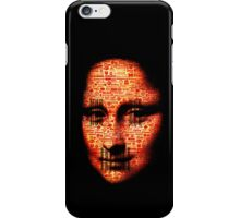 monalisa logorrhea iPhone Case/Skin