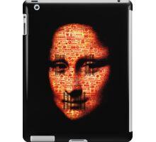 monalisa logorrhea iPad Case/Skin