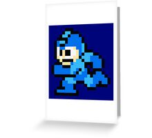 Megaman Sprite Greeting Card