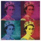 Queen Elizabeth II - Pop Art by Chunga
