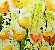 Tulips by Ismeta Gruenwald
