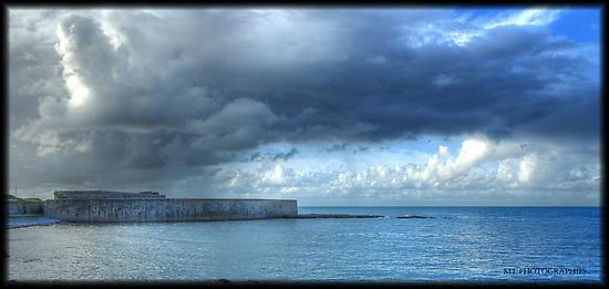 Querqueville fort by Michaël Tardif