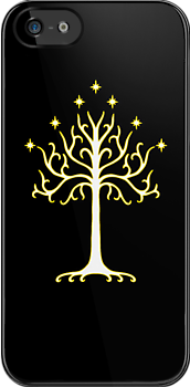 tree of gondor deluxe iphone case by jmakin
