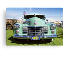 Caddy Canvas Print