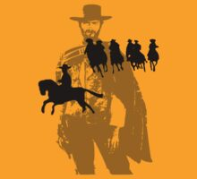 spaghetti western t-shirt on lite by parko