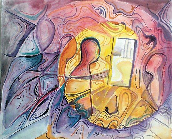 The psychic Door by ogie