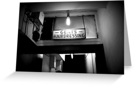 Gents Hairdressing - Soho, London by Ed Sweetman