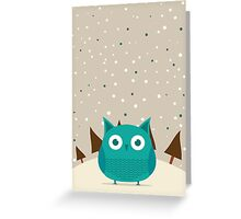 Cute owl Greeting Card